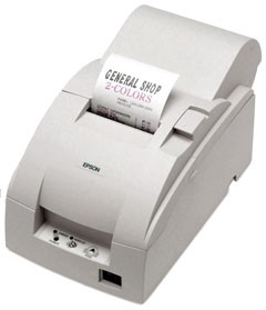 Epson TM-U220A Printer; no interface; open box; white (TM220AWOB)