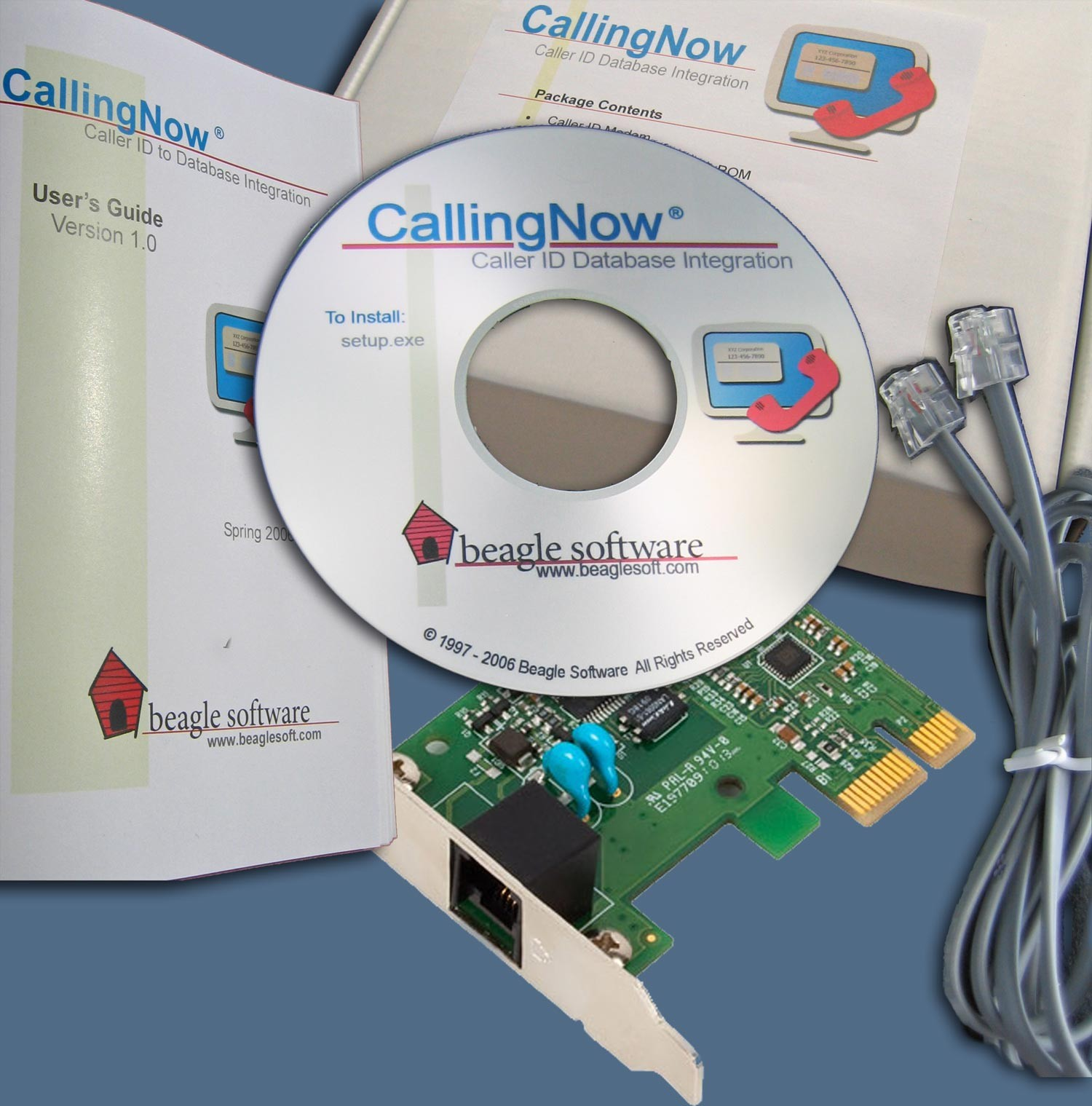 CallingNow Kit, PCIE Version