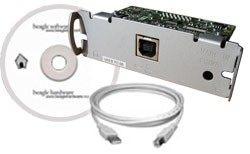 UB-U03II Kit: USB card, cable and disk