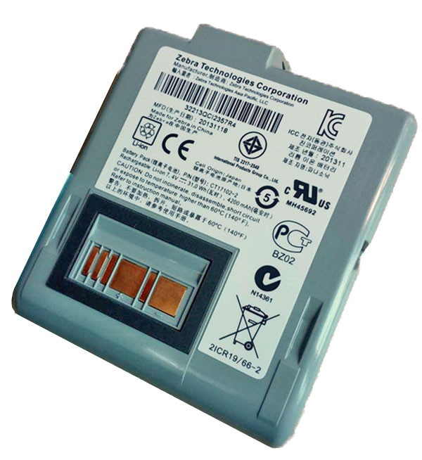 Zebra RW420 Li-ion battery pack