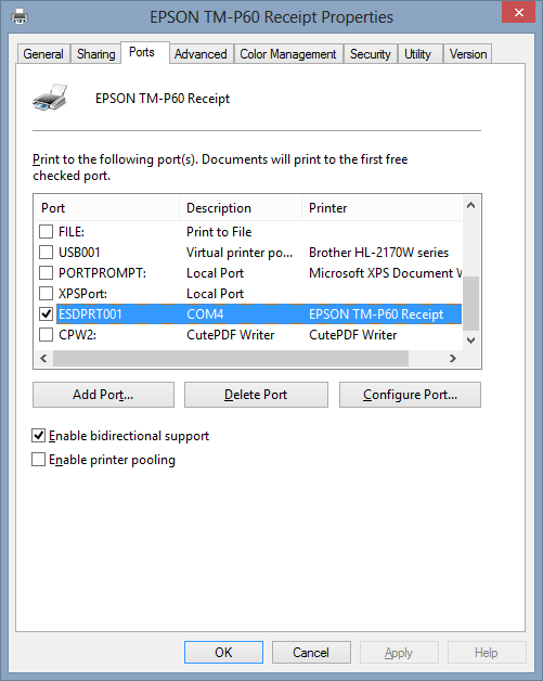 How to Connect an Epson POS Printer Using Bluetooth