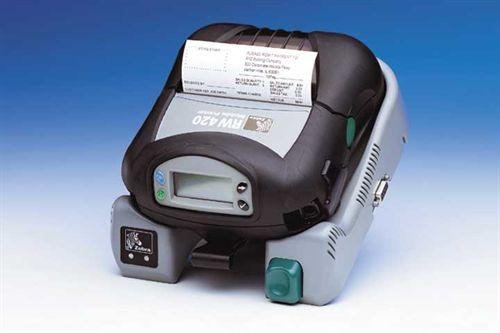 Zebra Rw420 Wireless Receipt Printer Small Bluetooth
