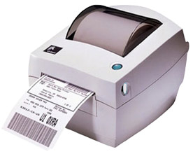 Zebra LP 2844 Printer