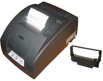 Epson tag printer with ribbon, NEW