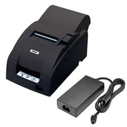 Epson TM-U220A USB Printer w/ P/S; black (TM220AUGPS)