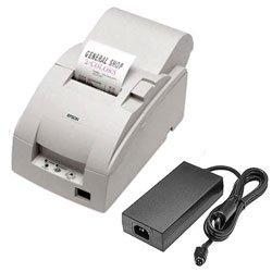 Epson TM-U220A USB Printer w/ P/S; white (TM220AUWPS)