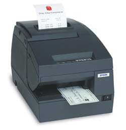 Epson TM-U675 Serial Printer with cutter; MICR (TM675BMSNG)