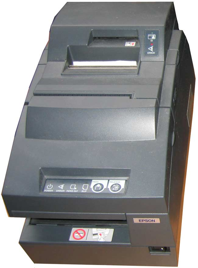TM-H6000III with Proof Plus Card Reader