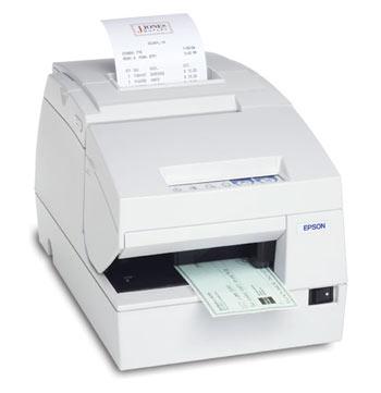 Epson TM-H6000III white w/ MICR & Endorser (TM6000MRW)