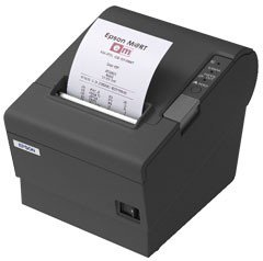 Epson TM-T88IV 80mm ReStick Serial Printer; black (TM884RSNG)