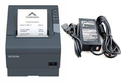 TM-T88V model M244A thermal printer w/ power suppply