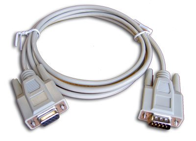 DB-9 Extension Cable; 25 ft
