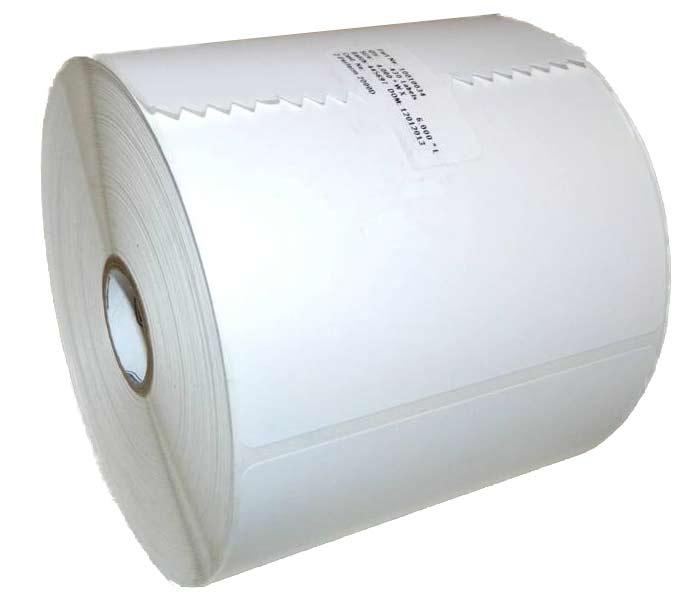 Zebra 4x6 inch thermal labels