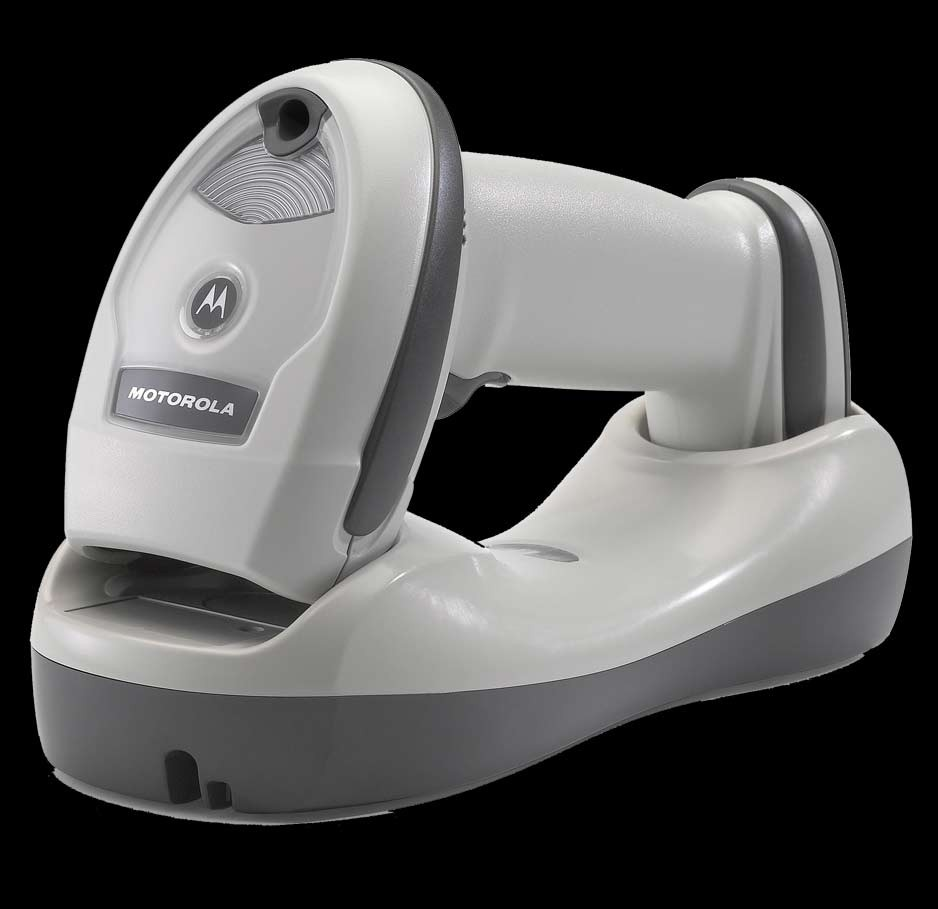 Motorola LI4278 wireless scanner kit; white (MOT4278KTW)