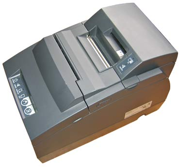 Epson TM-H6000III black w/ MICR & Card Reader (TM6000MJG)
