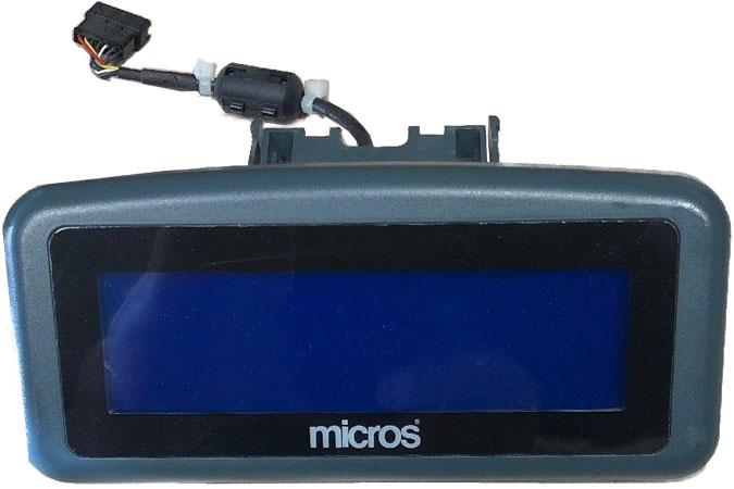 Micros Rear LCD Display for WS4/WS4LX (MPD4G)