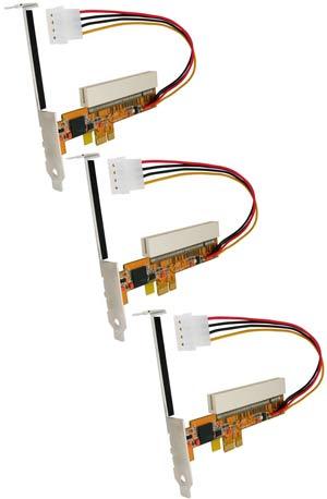 PCIE to PCI Adapter, 3-pak