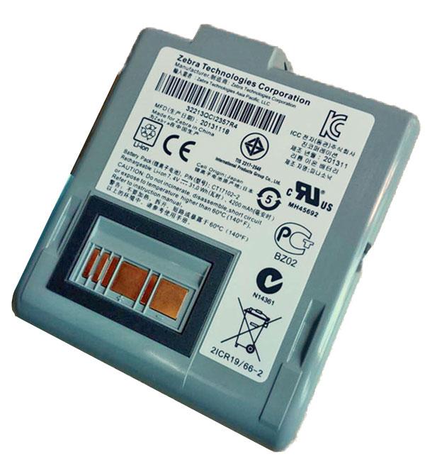 Zebra RW420 Rechargeable Li-ion Battery (RWBATT)