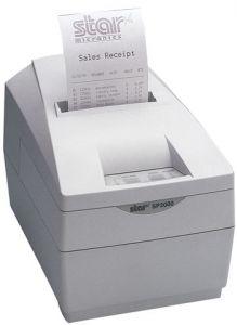 Star SP2000 Printer Serial, white (SP2000DSNW)