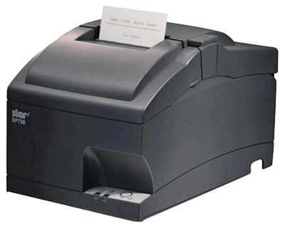 Star SP742 Printer USB; black (SP742BUG)