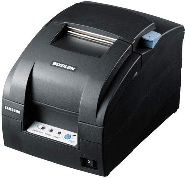 Bixolon SRP-275III Parallel & USB Printer, auto-cutter, black (SRP275BPNG)