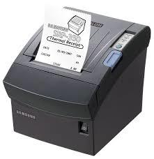 Bixolon SRP-350 Serial  Printer,  black (SRP350SG)