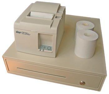 Starter kit: receipt printer with cash drawer