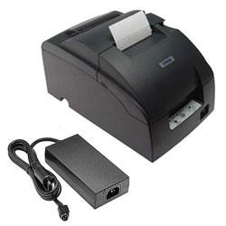 Epson TM-U220B Micros Ethernet Printer w/ P/S, black (TM220BE2GPS)