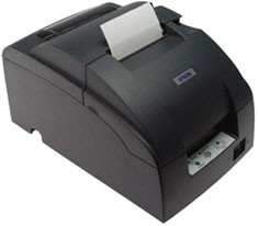 Epson TM-U220B Printer; wireless interface; black (TM220BWG)