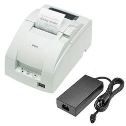 Epson TM-U220D Ethernet Printer w/ P/S; white (TM220DEWPS)