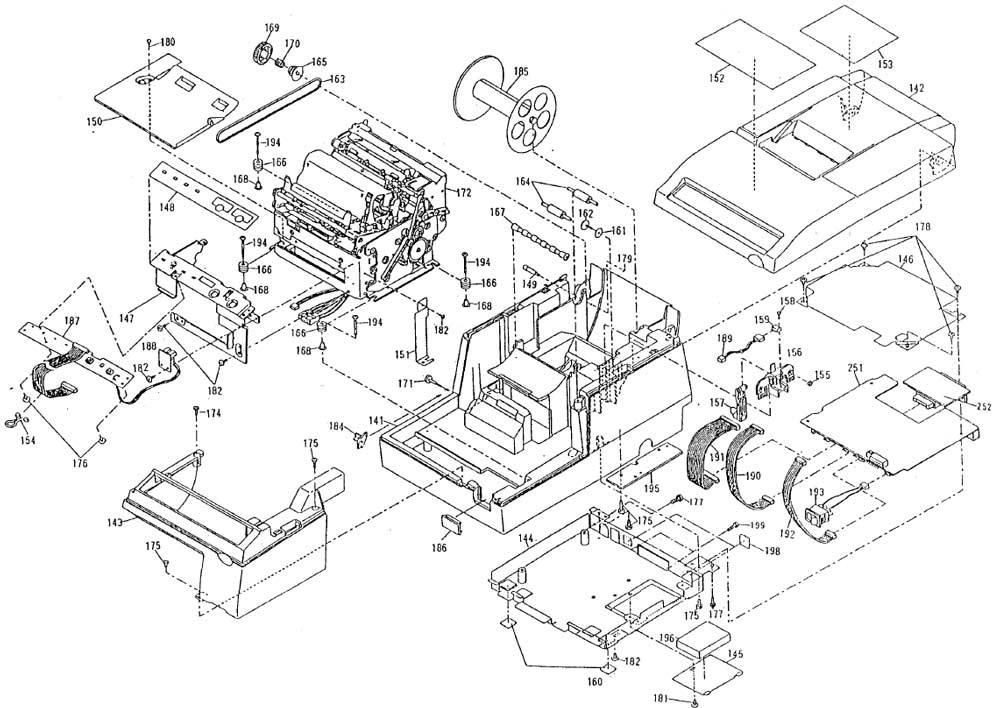 Epson TM-U375 Printer Part (TM375X)