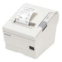 Epson TM-T88VI Serial Printer; white (TM886SNW)