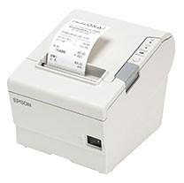 Epson TM-T88VI Serial Printer; white (TM886SNW)
