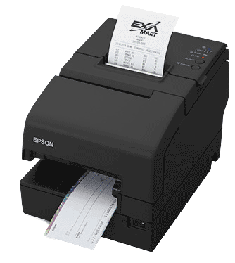 Epson TM-H6000V Black Serial Printer w/ P/S (TM60005SNGPS)