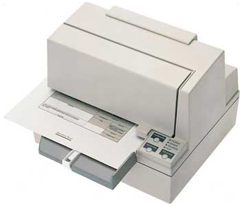 Epson TM-U590 Printer; trade-in return label (TRADE590)
