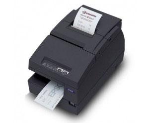 Epson TM-U675 Ethernet Printer w/Autocutter, black (TM675BEG)