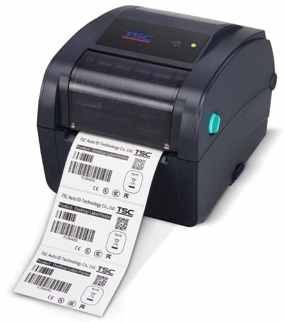 TSC TC210Thermal Transfer Printer, Ethernet/USB/serial/parallel (TC200EUSPN)