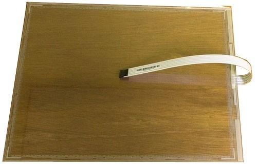 "Micros WS5/WS5A 15"" Resistive Touch Screen Glass (MWS5X15TS)"