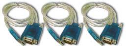 USB/Serial Adapter (3-pak) (232USB3)