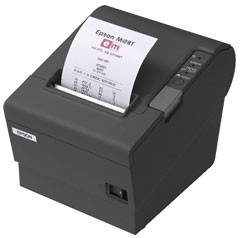 Epson TM-T88IV 80mm ReStick Ethernet Printer; black (TM884RENG)
