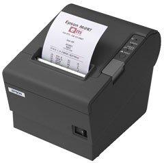 Epson TM-T88IV 80mm ReStick Ethernet Printer; black (TM884REG)