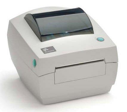 Zebra GC420d Thermal Printer; USB/serial/parallel; peeler (ZGC420LUSPN)