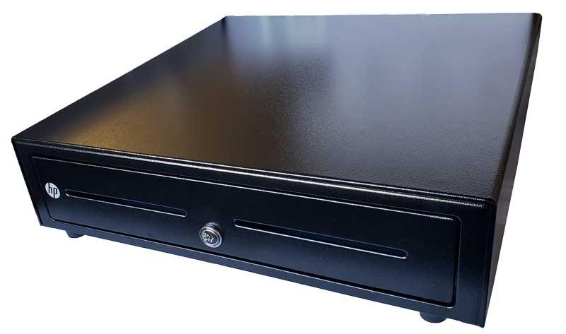 HP 16 Standard Duty Cash Drawer, black (HP1616GN)