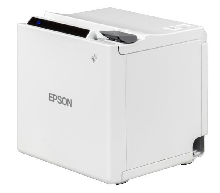 Epson m10 Ethernet & USB POS Printer; white (M10ENW)