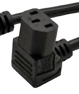 Micros WS5/A Line Cord; down right angle; 6' (LCUSRT)