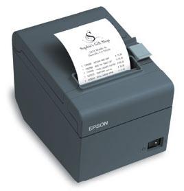 Epson T-20II Ethernet & USB Receipt Printer, black (T20ENG)