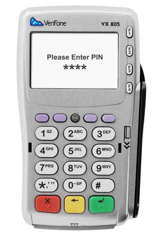 VeriFone Vx805
