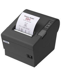 Epson TM-T88IV 80mm ReStick Ethernet Printer; black (TM884REG)