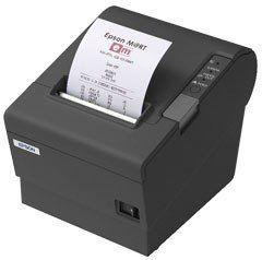 Epson TM-T88IV 80mm ReStick USB Printer; black (TM884RUG)