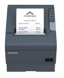 Epson TM-T88V Powered USB Printer; black (TM885PUNG)